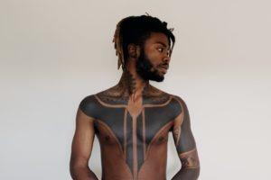 Tatuaż blackwork - przykłady